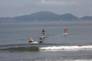 As aulas serão no Setor Náutico, em frente ao Aquário, na Ponta da Praia