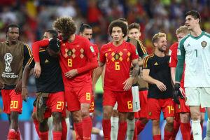 """Na Europa, muitos a chamam de """"geração de ouro"""" do futebol belga."""