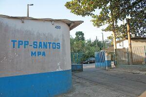 Prefeitura está pleiteando uma área que não é ocupada pelo Terminal Público Pesqueiro de Santos