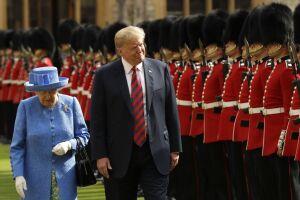Trump se junta agora à longa lista de presidentes americanos que conheceram a rainha britânica