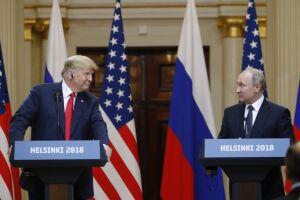 Trump e Putin se reuniram nesta segunda-feira (16)
