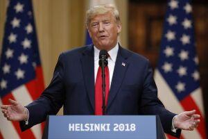 Trump disse que se impressionou com a repercussão de suas declarações ao lado de Putin