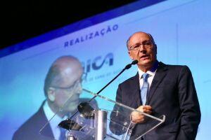 As declarações de Alckmin foram dadas durante evento na Confederação Nacional da Indústria (CNI)