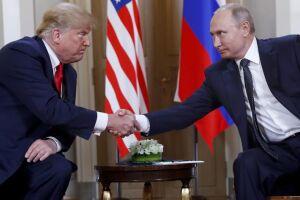 A primeira cúpula formal entre Trump e Putin começou por volta das 8h10 (horário de Brasília) com breves declarações de ambos líderes