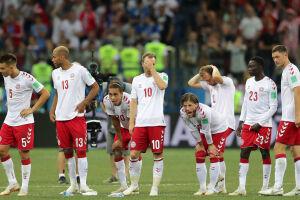 A Dinamarca acabou sendo eliminada nas penalidades, no domingo (1), após empate por 1 a 1 no tempo normal, mais prorrogação