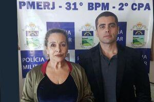 O médico e a mãe, Maria de Fátima, foram presos na tarde desta quinta-feira