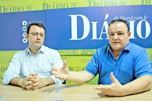A gestão de ambos vai até 2021. A região possui 16 mil empresas e o Sindicato 600 associados