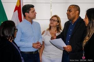 Nesta terça-feira (28), representantes da comissão responsável por fazer os estudos de viabilização da proposta estiveram reunidos com o prefeito Pedro Gouvêa.