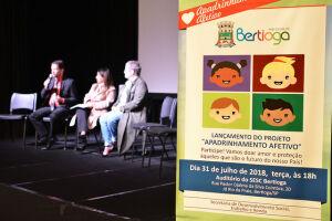 O projeto AKITÃ – Apadrinhamento Afetivo foi lançado no início desta semana em Bertioga