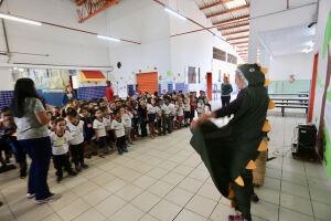 A ação possui o objetivo de ensinar as crianças sobre a história da Cidade, valorização e respeito ao Município, apresentando vários aspectos que formam a Cidade