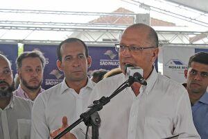 O ex-governador de São Paulo Geraldo Alckmin.