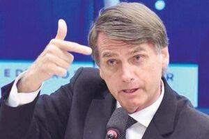O candidato a presidente Jair Bolsonaro (PSL).