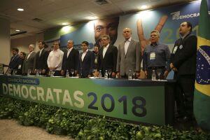 DEM oficializa apoio a Alckmin à Presidência da República