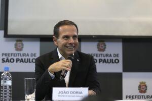 Doria lidera receitas na corrida ao governo de SP