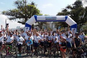 Marcado para o dia 16 de setembro (domingo), em frente ao Aquário Municipal de Santos, o passeio ciclístico tem como intenção incentivar adultos e crianças ao uso da bicicleta como mobilidade