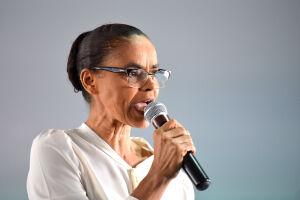 Marina Silva começa campanha dizendo que Brasil está quase na UTI