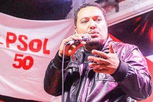 Em entrevista ao Diário, Fábio Melo (PSOL) fez críticas aos governos Estadual e Federal