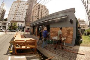 Santos passará a contar com oito parklets