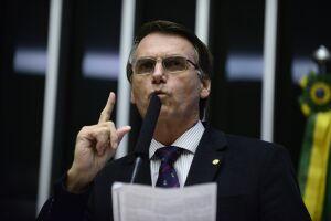 Bolsonaro, de 63 anos, está no sétimo mandato como deputado federal e concorre pela primeira vez à Presidência