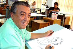 O quadrinista Mauricio de Sousa.