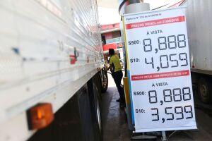 Diesel pode subir dependendo do dólar e do preço do petróleo
