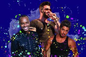 O palco do festival recebe Gusttavo Lima, Thiaguinho e Zé Felipe