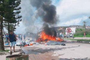 """""""A cidade está um caos"""", afirmou o padre Jesus Lopez Fernandez de Bobadilla."""