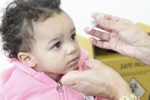 Até o momento, já foram aplicadas 15.304 doses contra o sarampo e 15.322 contra a poliomielite (90% do total)