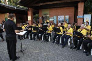 No domingo seguinte (26), haverá apresentação da tradicional banda musical Carlos Gomes, que soma mais de 55 anos em atividade, às 15h