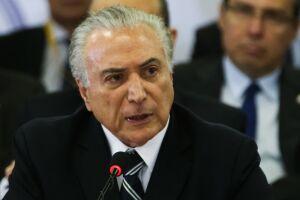 Michel Temer pediu reforço da Polícia Federal na segurança dos presidenciáveis