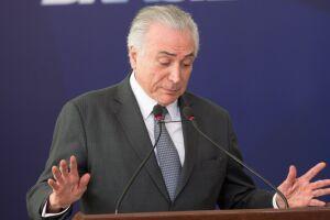A defesa de Michel Temer pediu a prorrogação do inquérito dos Portos