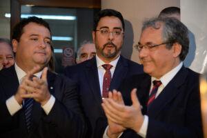 Marcelo Bretas (ao centro) negou apoio à candidatura de Jair Bolsonaro