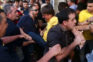 Bolsonaro foi esfaqueado em Juiz de Fora (MG)