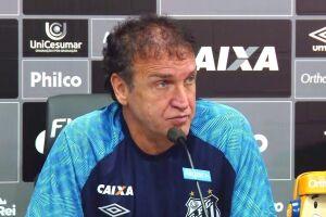 Cuca pretende melhorar a produtividade do ataque do Santos
