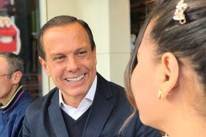 Doria prometeu que romperá com a tradição tucana