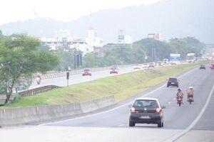 Mais de 297 mil veículos passaram pelo SAI durante o feriado da Independência