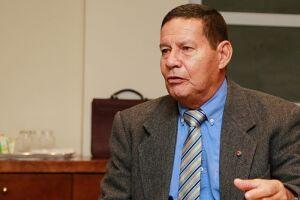 O general da reserva Hamilton Mourão (PRTB), vice de Jair Bolsonaro.