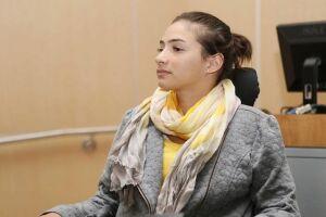 Laís Souza segue tratamento para voltar a andar.