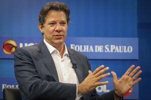 Fernando Haddad (PT) defendeu regras mais duras contra delatores