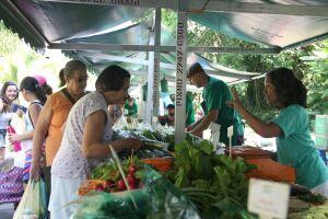 A feira, das 9h às 13h, terá várias atrações, além da venda de hortifrútis certificados, sem agrotóxicos.