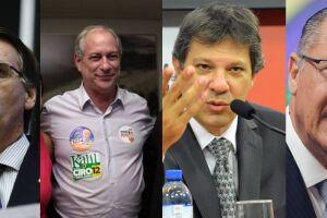 Jair Bolsonaro (PSL) lidera a corrida à Presidência com 26%