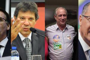 Bolsonaro se mantém na liderança, mas Haddad sobe