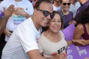 Salvador foi uma das cidades onde grande concentração de pessoas anti-Bolsonaro se uniram.