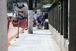 A terceira etapa das obras prevê a construção de um viaduto com 395 metros de comprimento
