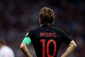 Luka Modric foi eleito o melhor jogador da Copa do Mundo da Rússia