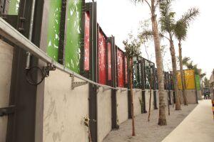 Trecho ganhará novo cenário com o projeto Muro Verde