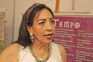 Cecília Tannuri esteve em Santos para divulgar a campanha 'Violência sem Rastros'