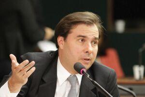 O presidente da Câmara dos Deputados e candidato à reeleição, Rodrigo Maia (DEM-RJ).