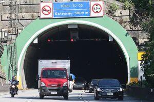 O maior volume de veículos em direção ao Litoral é aguardado para a tarde de quinta-feira (6), quando será montada a Operação Descida (7x3), a partir das 13h