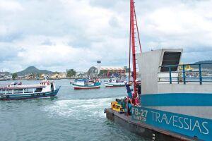 A travessia Santos/Guarujá recebeu de volta duas embarcações que estavam em reforma